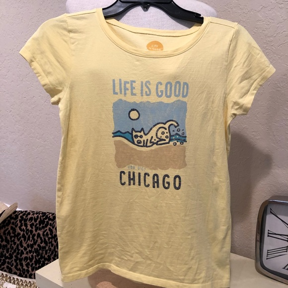 Life Is Good Other - Life is good kids t shirt size xl Chicago